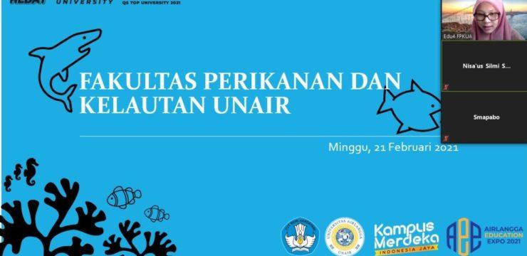 Beberapa dosen Fakultas Perikanan dan Kelautan Universitas Airlangga turut menyemarakkan ajang promosi Fakultas