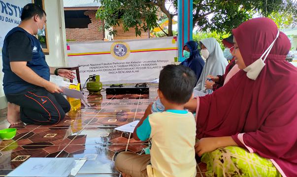 Fun cooking untuk mengurangi Trauma pasca Bencana di Mamuju, Sulawesi Barat