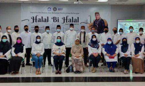 Halal Bi Halal Idul Fitri 1442 H FPK Unair