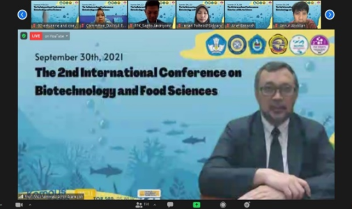 Seminar Internasional 2nd International Conference on Biotechnology and Food Sciences (2nd INCOBIFS)