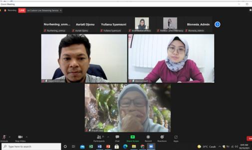 Berbagi Pengalaman Studi DNA Barcoding dan DNA Metabarcoding pada Workshop yang diselenggarakan Bionesia Bali